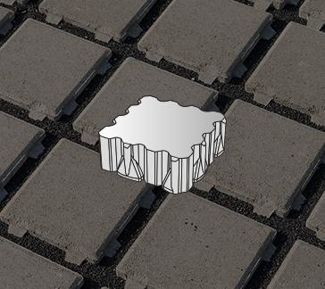 image de Pavés écologiques drainants