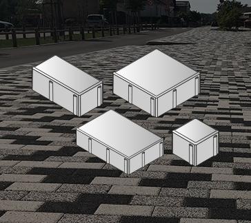 image de Pavés carrés et rectangulaires
