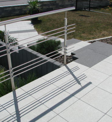 image de Kugelgestrahlte Terrassenplatten