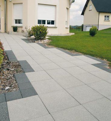 image de Terrassenplatten Aquaprint