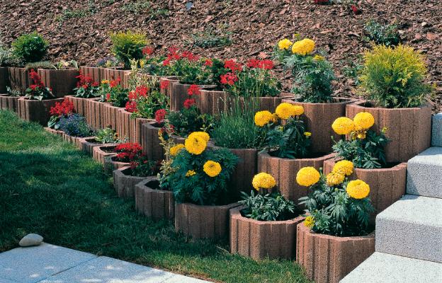 Système floral - Bacs à fleurs